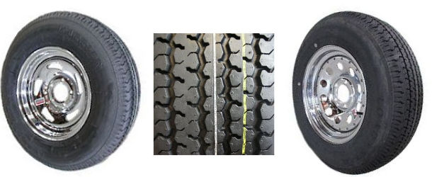 TRACKER TRAILER® Replacement Tire and Rim
