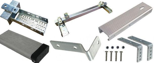 Trailer Fender Brackets and Hardware