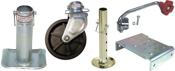 Utility Trailer Jack Parts and Accessories