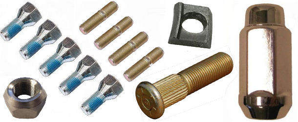 Wheel Studs, Lug Nuts and Lug Bolts at Trailer Parts Superstore