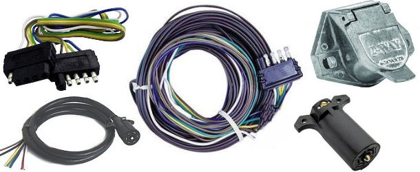 [DIAGRAM_38IU]  Trailer Wiring, Plugs and Sockets at Trailer Parts Superstore | Round Wire Harness Plug Truck 5 |  | Trailer Parts Superstore