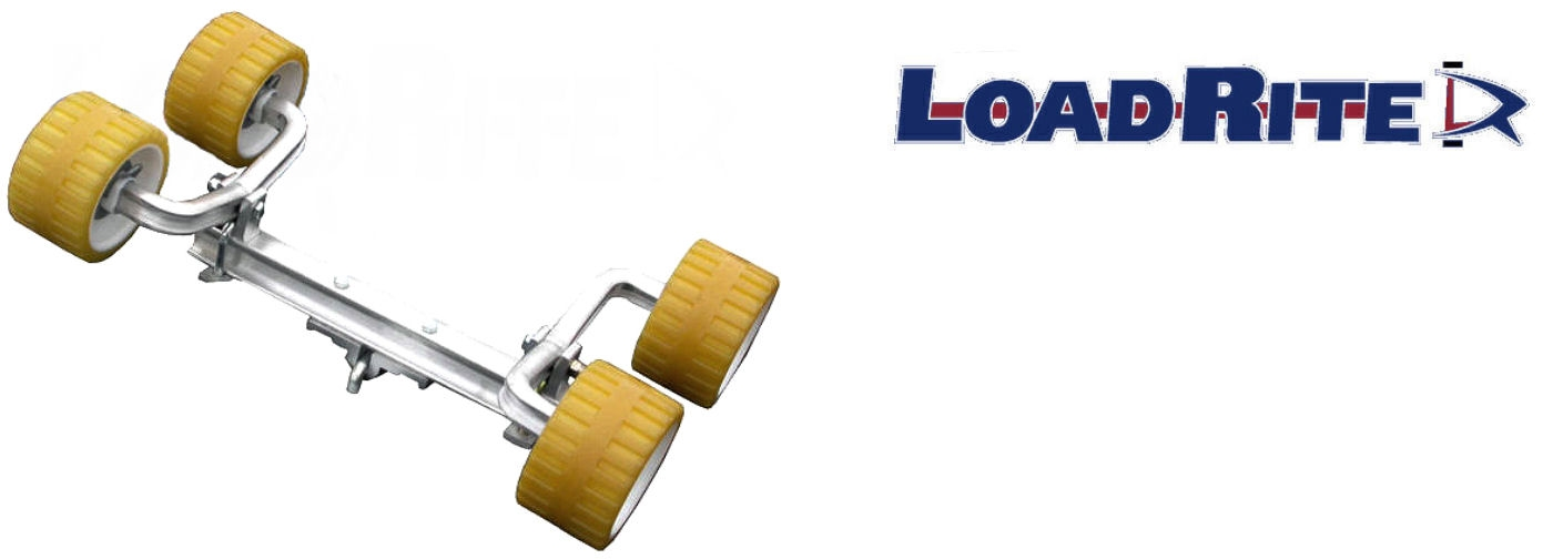 Details about LOADRITE 4-Wheel Wobble Roller embly #6071.07 on