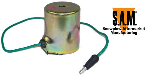 meyer diamond snow plow c coil w green wire 1306060 ebay. Black Bedroom Furniture Sets. Home Design Ideas