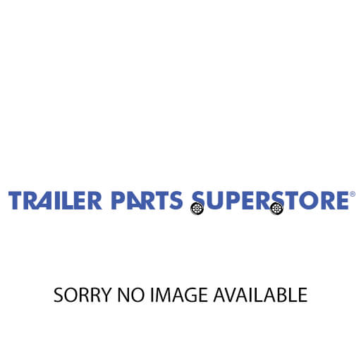 "KARAVAN RH White Plastic Fender 12""/13"" Tires w/Cutout #206-00086-WH"