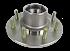 "KODIAK 1-3/4"" x 1-1/4"" Bearing, 8 on 6.5"" Stud Wheel Hub S.S #HUB-42865-7-8-SS"