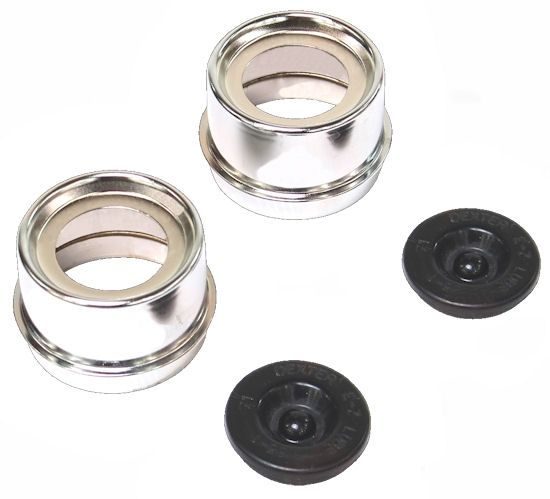 New Rubber Grease Plugs for Hub Dust Caps for Dexter EZ Lube Trailer Camper Axle 4