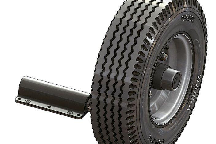 #FR-935 FLEXIRIDE/® Torsion Half Axles 935 Lb.
