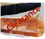Orange Safety Fence, Privacy and Debris Netting