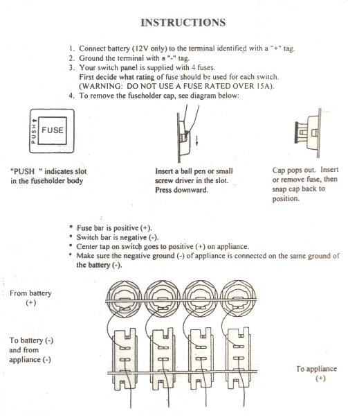 6 Gang Marine Switch Panel Wiring Diagram | Wiring Diagram 2019  Gang Switch Panel Wiring Diagram on 4 float switch wiring diagram, basic boat wiring diagram, 5-way light switch diagram, 4 gang switch box, cooker unit wiring diagram, 2 gang switch wiring diagram, 4 light wiring diagram, two gang electrical box wiring diagram,