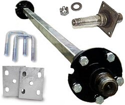 Boat Trailer Axles & Spindles