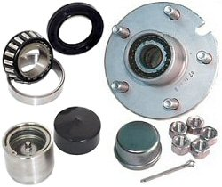Trailer Hubs, Bearings & Grease