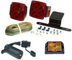Boat Trailer Lights & Wiring