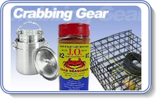 Crabbing Supplies for Catching & Cooking