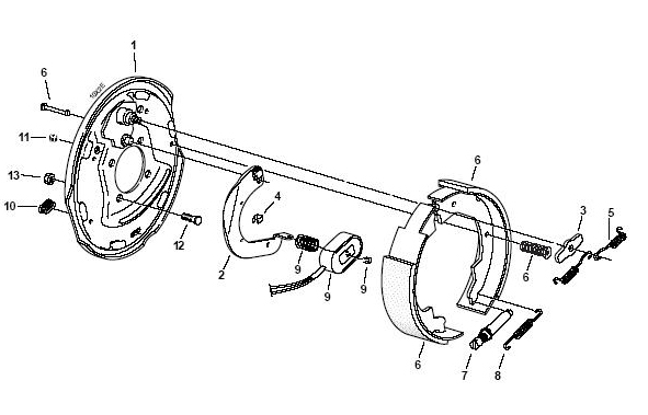 trailer bearing diagram